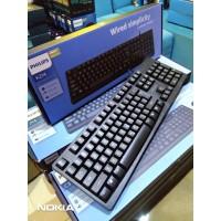 Keyboard Philips K214 - SPK6214 - Office Keyboard - Silent Keyboard