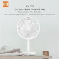 kipas angin meja xiaomi mi table desktop fan solove f5 portable 4000mh