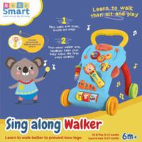 Bebe Smart Basic Sing along Baby Walker 6m+
