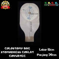 colostomi Convatec Stomadress Coklat