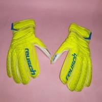 Sarung Tangan Kiper Reusch Fit Control SG Finger Support (Hijau)