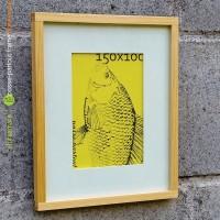 passe-partout S1 hanging picture frame, pigura kayu, bingkai foto