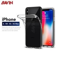 iPhone X XS XR XS MAX Transparan Bening Soft Case Perfect Fit Casing