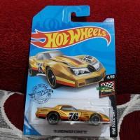 Hotwheels 76 Greenwood Corvette hot wheels