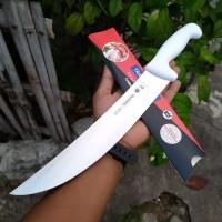 Pisau Sembelih 10 inch Tramontina Butcher Cimeter 24610/080 Original