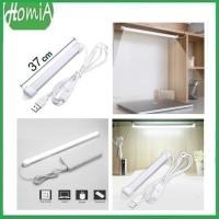 Lampu Neon USB Strip LED 37cm Lampu Belajar Kerja Rumah Dapur Meja