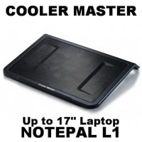 Cooler Master NotePal L1 | Notebook Cooler Fan | Laptop Cooling Pad
