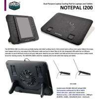 Cooler Master Notepal I200 | Notebook Cooler Fan | Laptop Cooling Pad
