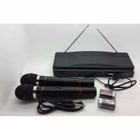 Microphone Double Wireless HOMIC HM 306 / mic / mik homic 306