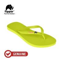 Fipper Glitter / Sandal Jepit Wanita / Green Lime