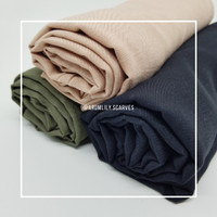 Pashmina Polos Silky Voal / premium / hijab / jilbab / kerudung