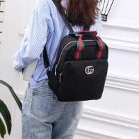 Gucci Daniel Canvas Backpack