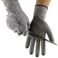 Sarung Tangan Tahan Potong PU Nitrile Coated Anticut Gloves