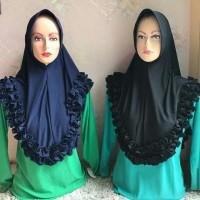 jilbab motif renda bantul