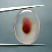 Batu Akik Combong Kristal Transparan (kode : 123)