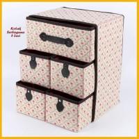 kotak serbaguna 5 bunga laci krem
