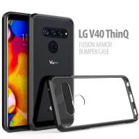 LG V40 ThinQ - Fusion Armor Bumper Case