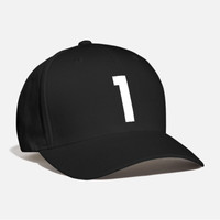 TOPI CAPS BASEBALL NUMBER 1