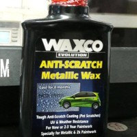 Waxco Anti Scratch Metallic Wax Kilap 6 Bulan Anti Gores 200ml aiL1