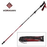 Trekking Pole Lipat Tarik Carbon KORAMAN KR-HPA Trigger Ultralight