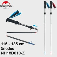TREKKING POLE LIPAT ULTRALIGHT CARBON ST07 NATUREHIKE NH18D010-Z 5N