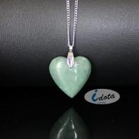 Kalung Liontin Batu Giok l Natural Nephrite Jade LT908