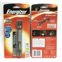 SENTER METAL ENERGIZER DENGAN 2 BATRE