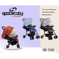 stroller bayi spacebaby SB-320 kereta dorong bayi stroller baby