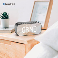 SPEAKER PORTABLE BLUETOOTH 5.0 ROBOT RB550 Alarm Clock with LED