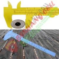 Jangka Sorong Plastik Vernier Caliper Gauge Micrometer 150mm - MALANG