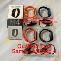 M4 SMARTBAND bracelet SMART WATCH JAM TANGAN MI BAND 4 OEM 99.99% - Merah Muda