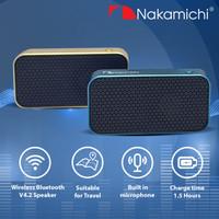 Nakamichi My Meiryo Slim Wireless Bluetooth Active Speaker Portable - Biru