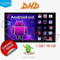 DHD Android Double Din Head Unit Mirrolink Mtech
