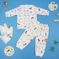 1 Setelan Baby New Born SNI / Lengan Panjang Baju Kaos Celana Bayi