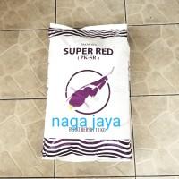 pelet ikan koi super red pk-sr 5 mm berat 10 kg pakan makanan ikan
