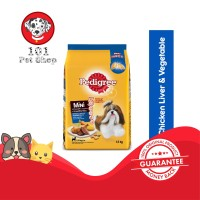 MAKANAN ANJING PEDIGREE MINI CHICKEN LIVER & VEGETABLE FLAVOUR 1.3KG