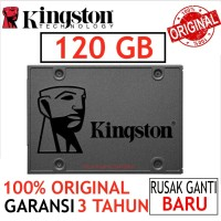 SSD KINGSTON V400 120GB SATA3 SOLID STATE DISK ORIGINAL BARU SSD 2.5""
