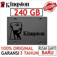 "SSD KINGSTON V400 240GB SATA3 SOLID STATE DISK ORIGINAL BARU SSD 2.5"""