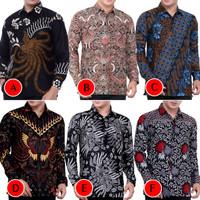 Kemeja Batik Pria Murah Lengan Panjang   Baju Batik Pria   Kemeja Pria