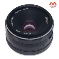 Lensa Meike 25mm F1.8 Wide Angle Manual Focus Lens For Fujifilm Fuji X