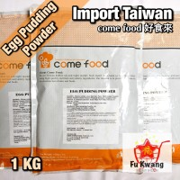 Silky Egg Pudding Powder Come Food Brand Import Taiwan 1 kg