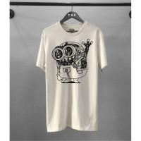 Kaos Distro Pria Minion Robot Atasan Pria T-shirt Pria