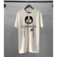 Kaos Distro Pria Vespa Kick Atasan Pria T-shirt Pria