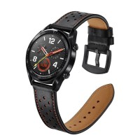 STRAP JAM TANGAN HUAWEI WATCH GT & GT 2 46 MM GENUINE LEATHER BAND