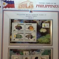 1 Set Perangko Ikan Hias Akuarium Filipina - 1996 - Prangko Koleksi