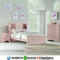 Set Kamar Anak Cewe Warna Pink, Kamar Set Anak Perempuan
