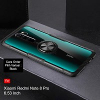 XIAOMI REDMI NOTE 8 / NOTE 8 PRO CLEAR CASE MAGNETIC RING VERUS SERIES