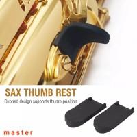 Karet Rubber Thumb Rest Saxophone Alto Tenor Soprano
