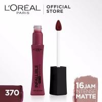 L'Oreal Paris Infallible Pro Matte Liquid Lipstick - 370 Roseblood