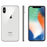 Hp iPhone X 64 Gb silver second hand
